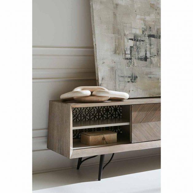 A Cut Above Entertainment Console | Modern Luxury Exclusive Elegant Designer Furniture