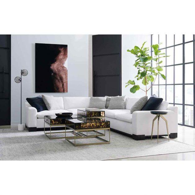 Refresh Sectional From Modern Artisan Remix Collection | Modern Luxury Exclusive Elegant Designer Furniture