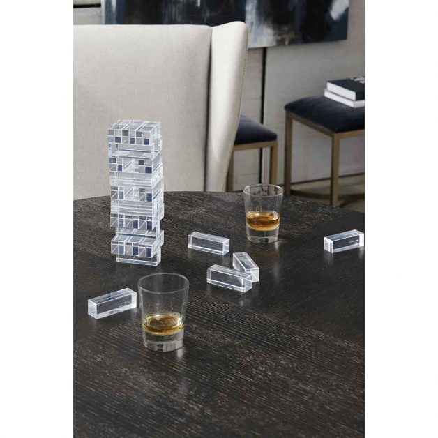 Remix Cerused Oak Round Dining Table | Modern Luxury Exclusive Elegant Designer Furniture