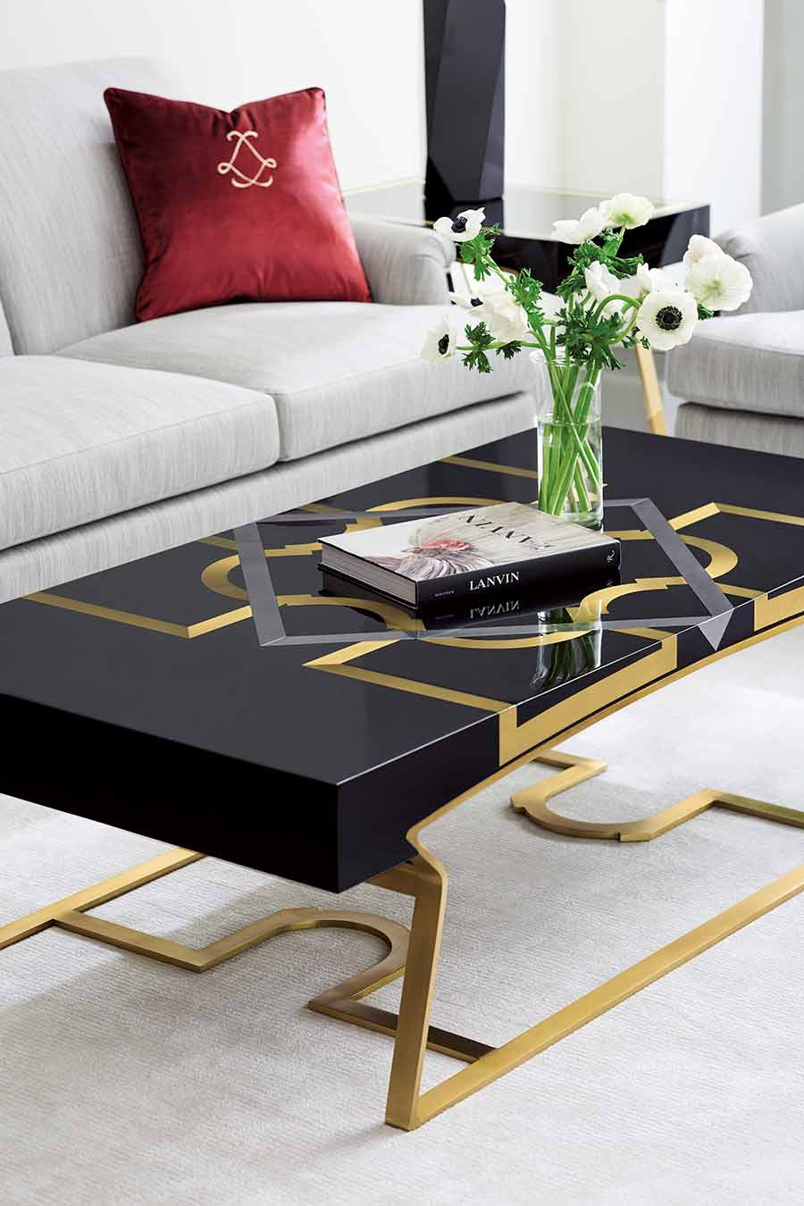 The Moderniste Cocktail Table | Contemporary Modern Luxury Exclusive Elegant Designer Handcrafted Furniture