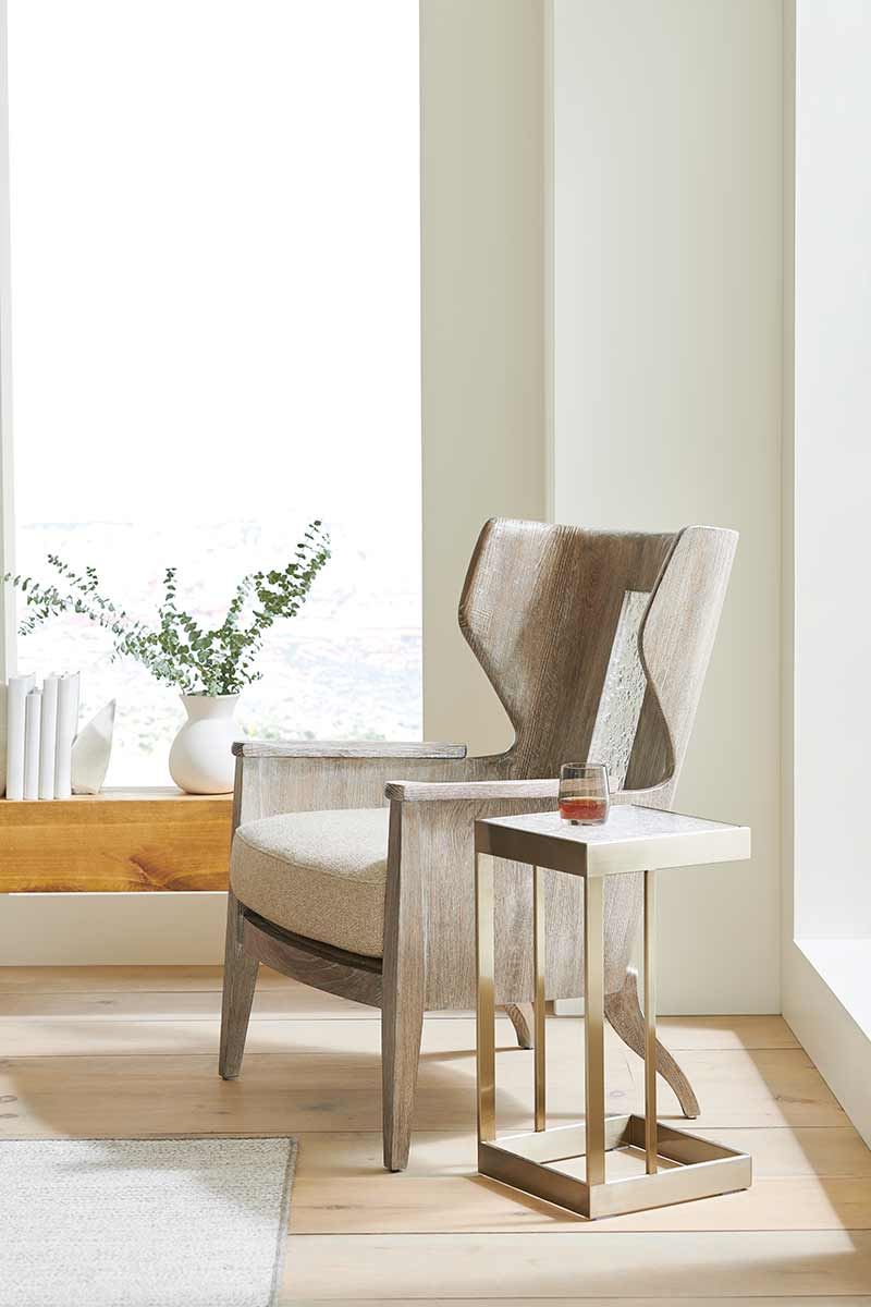 Peek A Boo Accent Chair | Contemporary Modern Luxury Exclusive Elegant Designer Handcrafted Furniture
