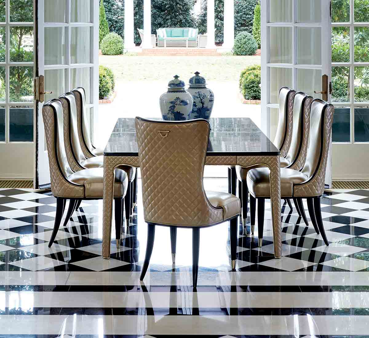 The Aristocrat Dining Table | Dining Room | Contemporary Modern Luxury Exclusive Elegant Designer Handcrafted Furniture
