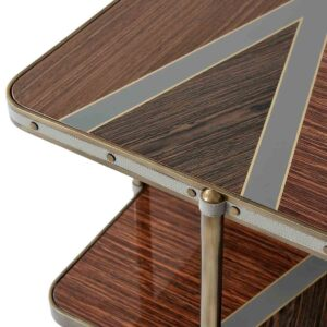Iconic Two Tiered Side Table II