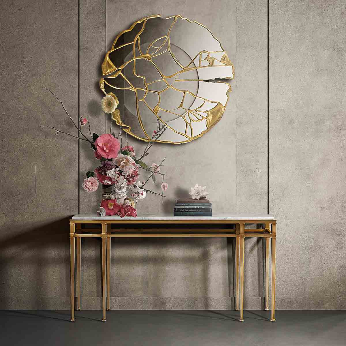 Annalynn Console Table | Contemporary Luxury Exclusive Designer Modern Handcrafted Furniture | Sandton Johannesburg