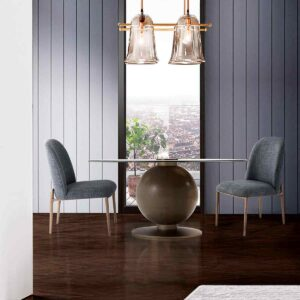 Fulcrum Round Dining Table