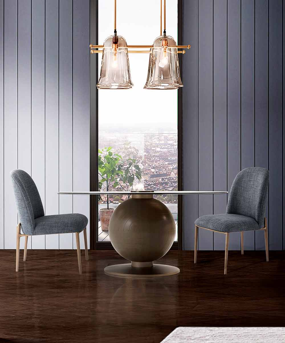 Fulcrum Dining Room Steve Leung Collection | Contemporary Luxury Exclusive Designer Modern Handcrafted Furniture | Sandton Johannesburg