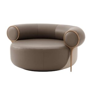 Loop Low Upholstered Arm Chair