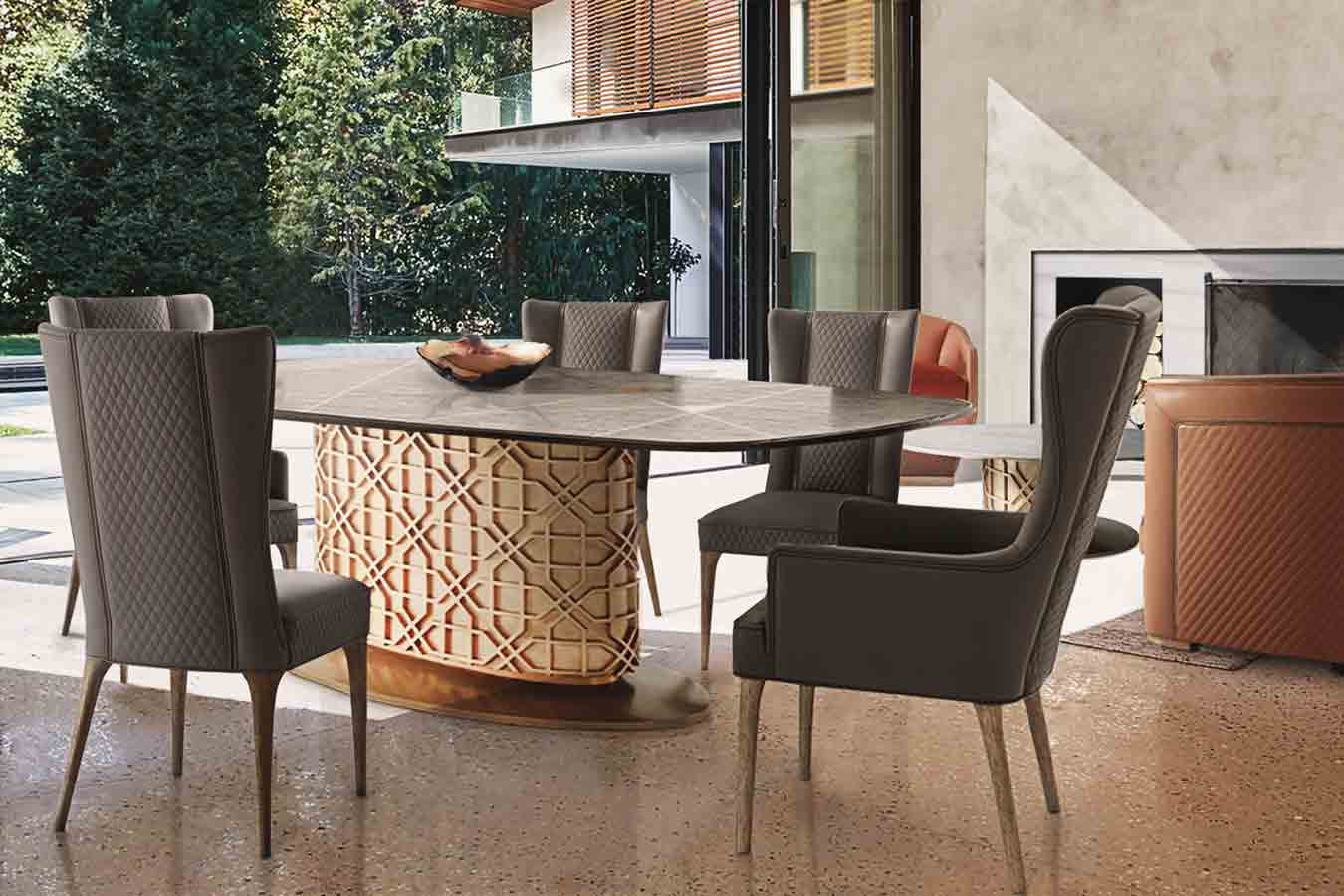 Oasis Collection Dining Room | Contemporary Luxury Exclusive Designer Modern Handcrafted Furniture | Sandton Johannesburg