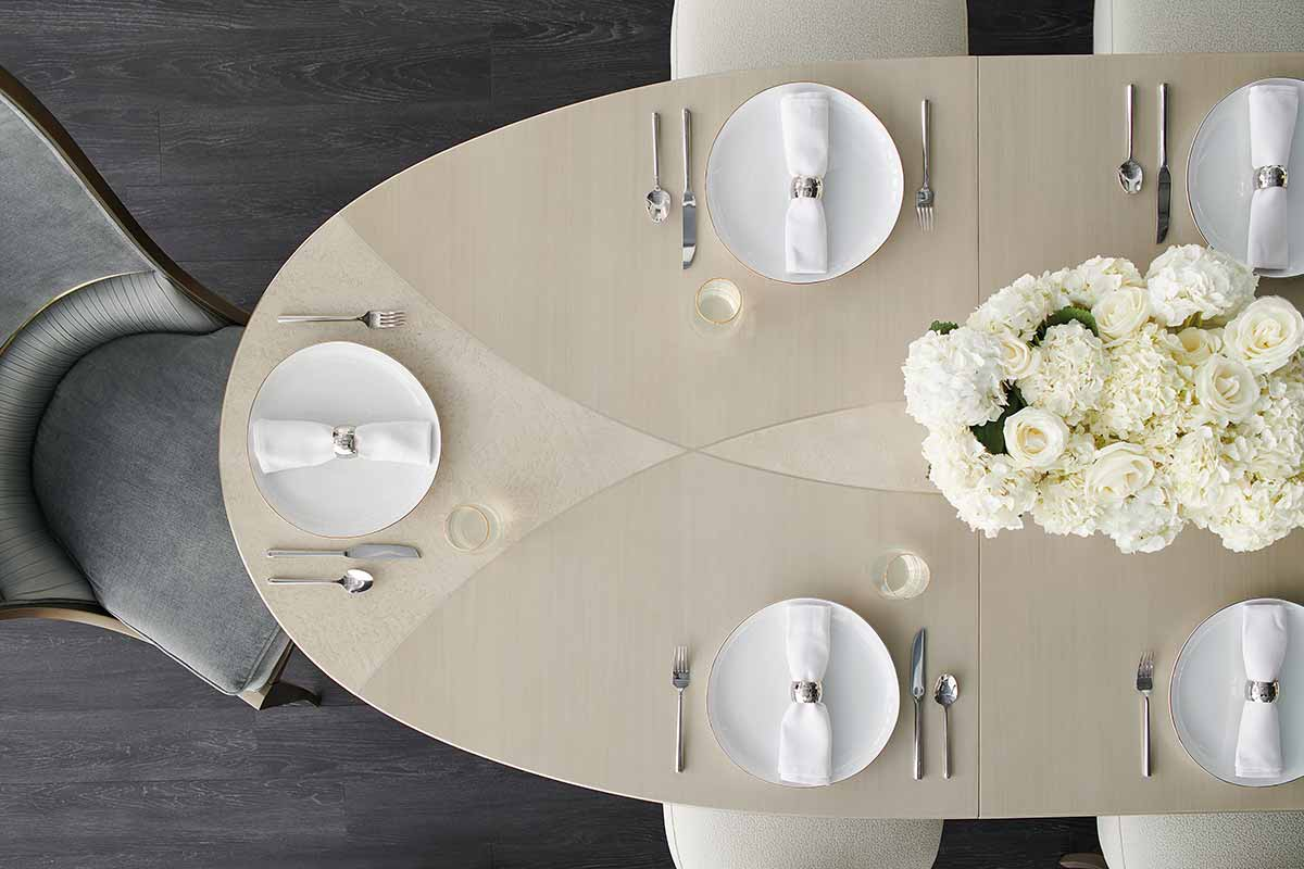 The Source Dining Table | Dining Room | Contemporary Modern Luxury Exclusive Elegant Designer Handcrafted Furniture