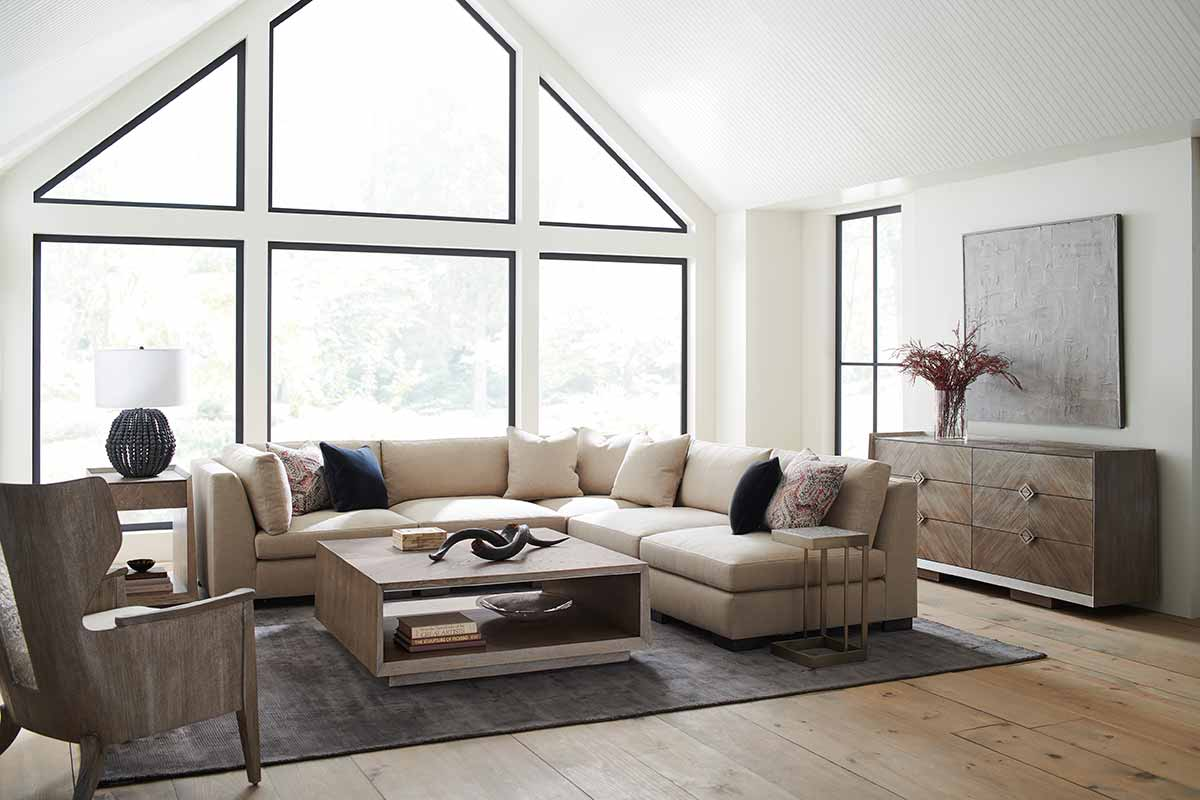 Building Blocks Sectional Sofa | Living Room | Contemporary Modern Luxury Exclusive Elegant Designer Handcrafted Furniture