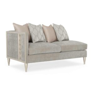 Fret Knot LAF Loveseat