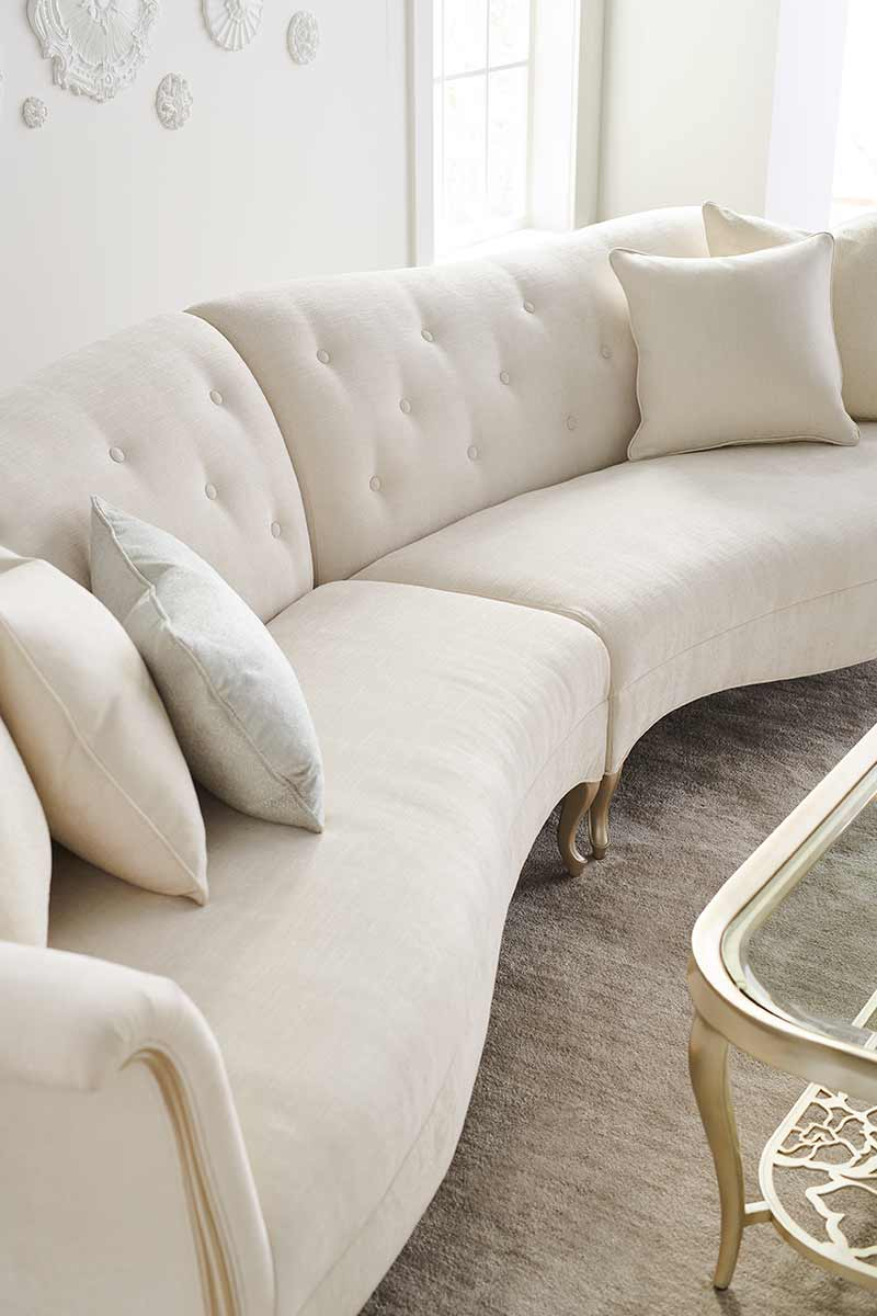 Two to Tango Sectional Sofa | Living Room | Contemporary Modern Luxury Exclusive Elegant Designer Handcrafted Furniture