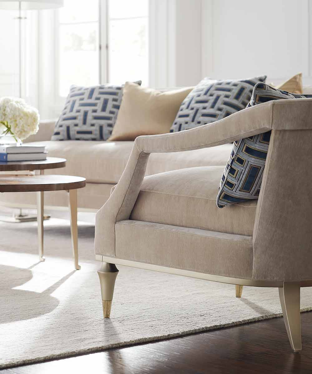 Living Large Chair and Sofa | Living Room | Contemporary Modern Luxury Exclusive Elegant Designer Handcrafted Furniture