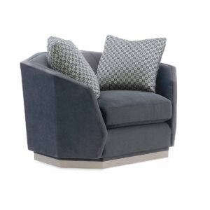 Expressions Swivel Club Chair