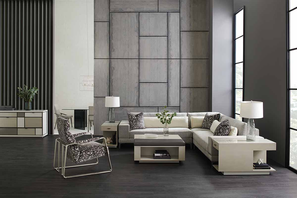 Repetition Sectional Modern Expressions Collection Living Room | Contemporary Luxury Exclusive Designer Modern Handcrafted Furniture | Sandton Johannesburg