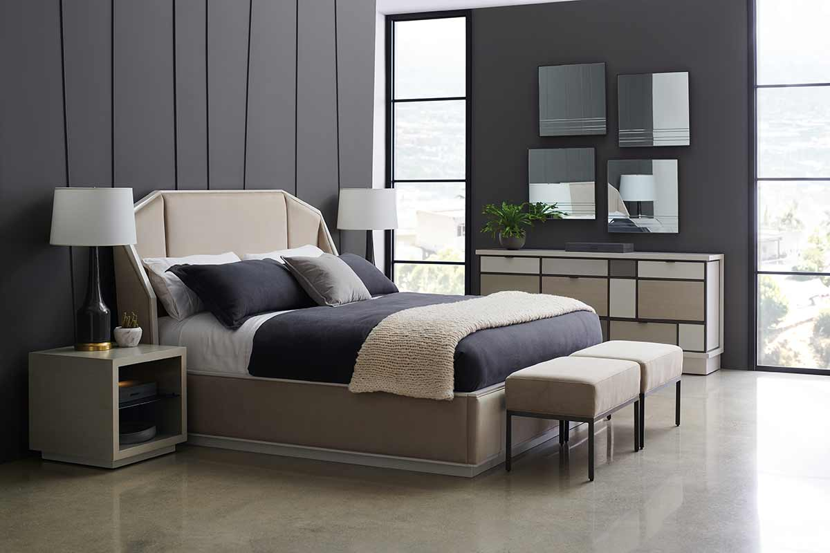 Modern Expressions Collection Expressions Bed | Contemporary Luxury Exclusive Designer Modern Handcrafted Furniture | Sandton Johannesburg