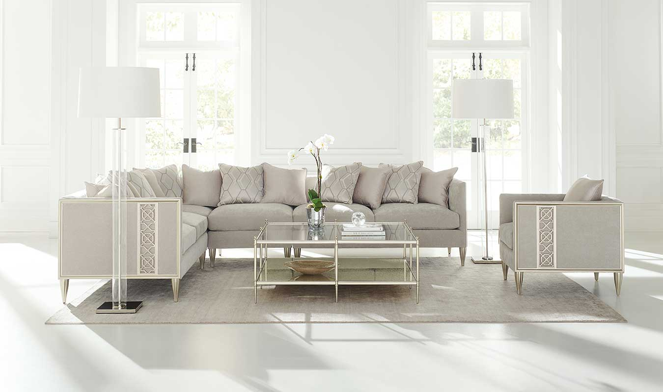 Fret Knot Sectional Sofa | Contemporary Luxury Exclusive Designer Modern High-End Furniture | Sandton Johannesburg