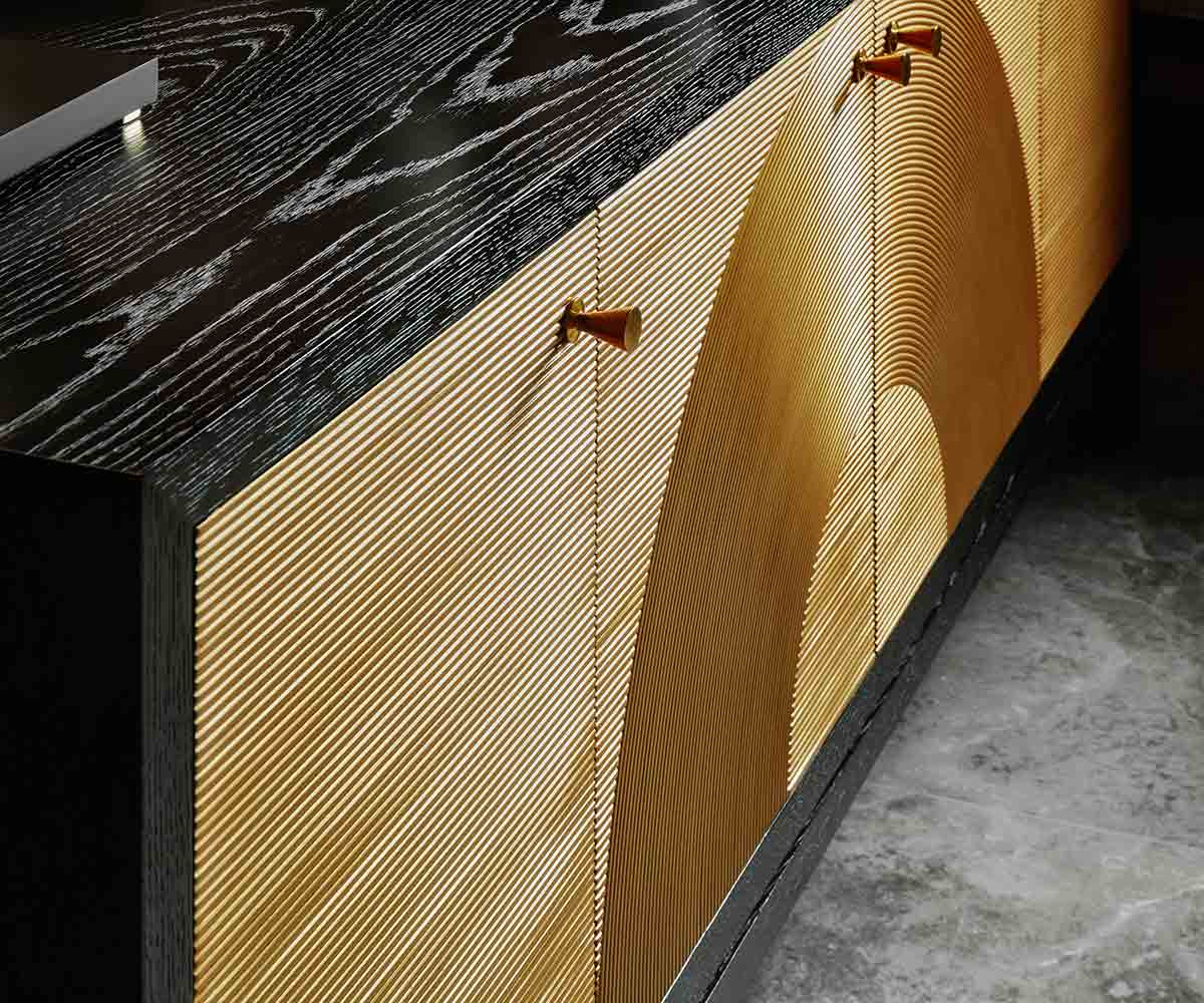 Jamie Drake Collection Reed Buffet   Contemporary Luxury Exclusive Designer Modern High End Furniture   Sandton Johannesburg