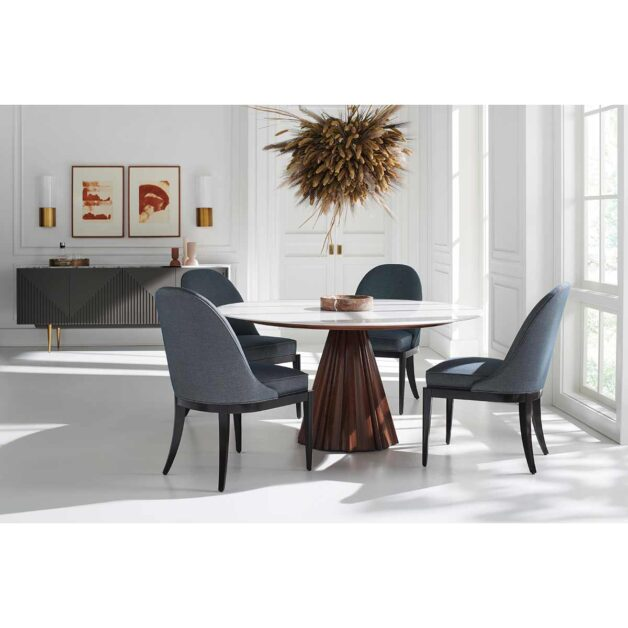 All Natural Dining Room Interior   Contemporary Luxury Exclusive Designer Modern Classic Furniture