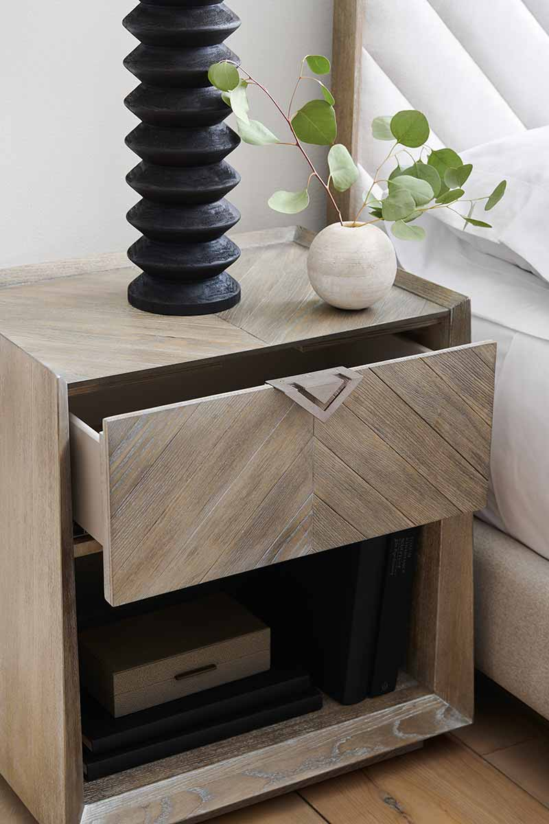 Earthly Delight Nightstand | Bedroom | Contemporary Modern Luxury Exclusive Elegant Designer Handcrafted Furniture