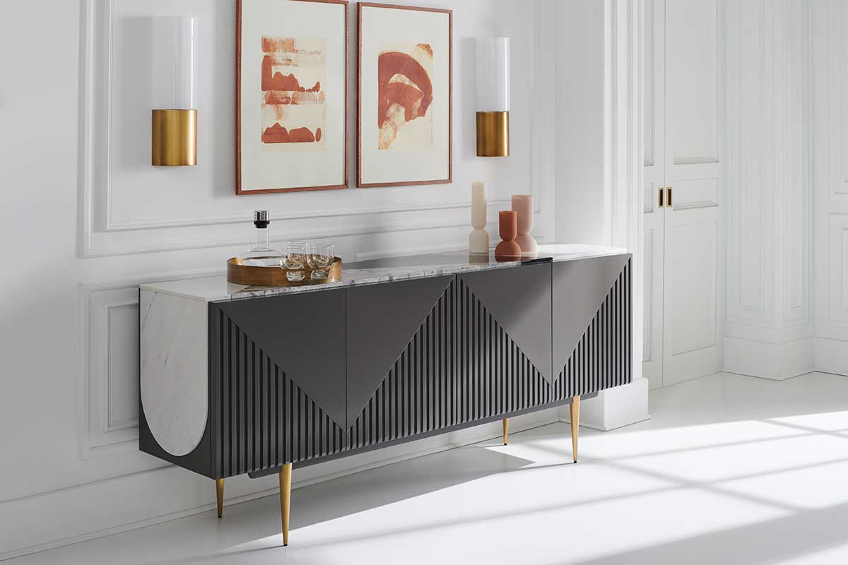 Over The Edge Side Cabinet | Place Direct | Contemporary Luxury Exclusive Designer Modern High End Furniture | Sandton Johannesburg