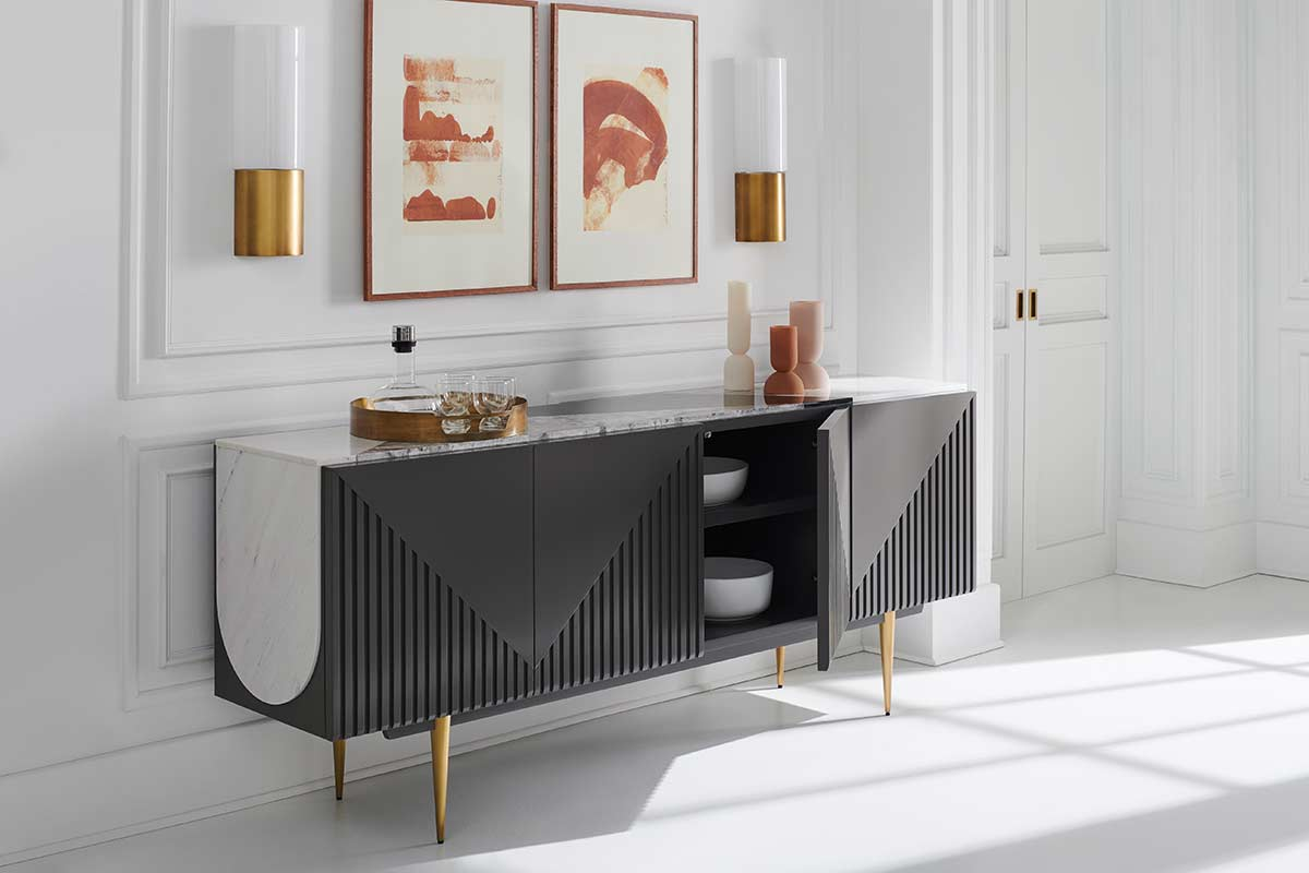 Over The Edge Sideboard | Place Direct | Contemporary Luxury Exclusive Designer Modern High End Furniture | Sandton Johannesburg