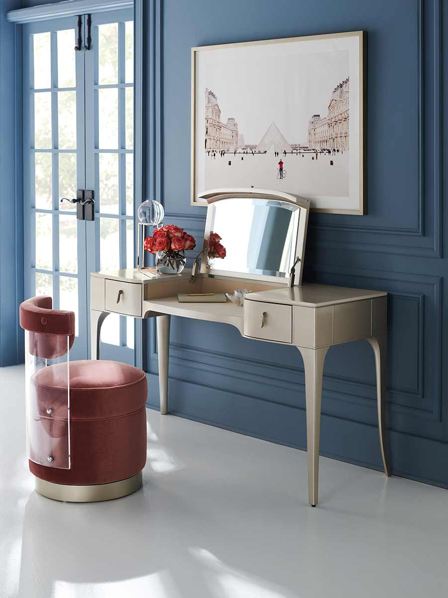 Full View Dressing Table Chair | Place Direct | Contemporary Luxury Exclusive Designer Modern Furniture | Johannesburg
