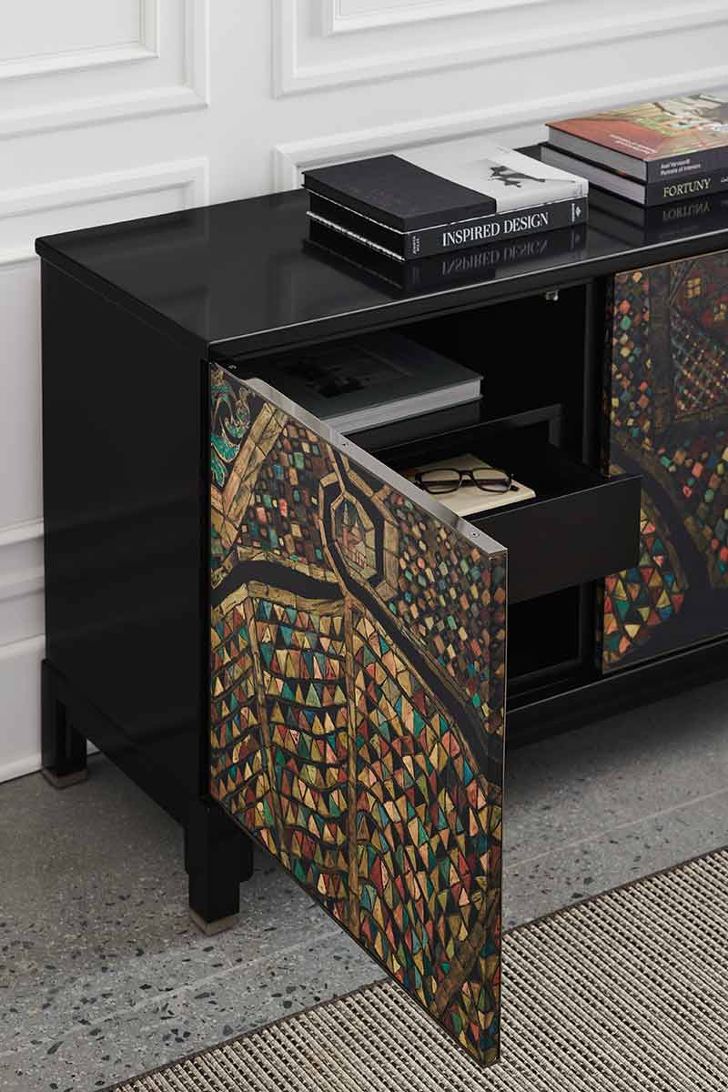 Mosaic Entertainment Cabinet | Place Direct | Contemporary Luxury Exclusive Designer Modern High End Furniture | Sandton Johannesburg