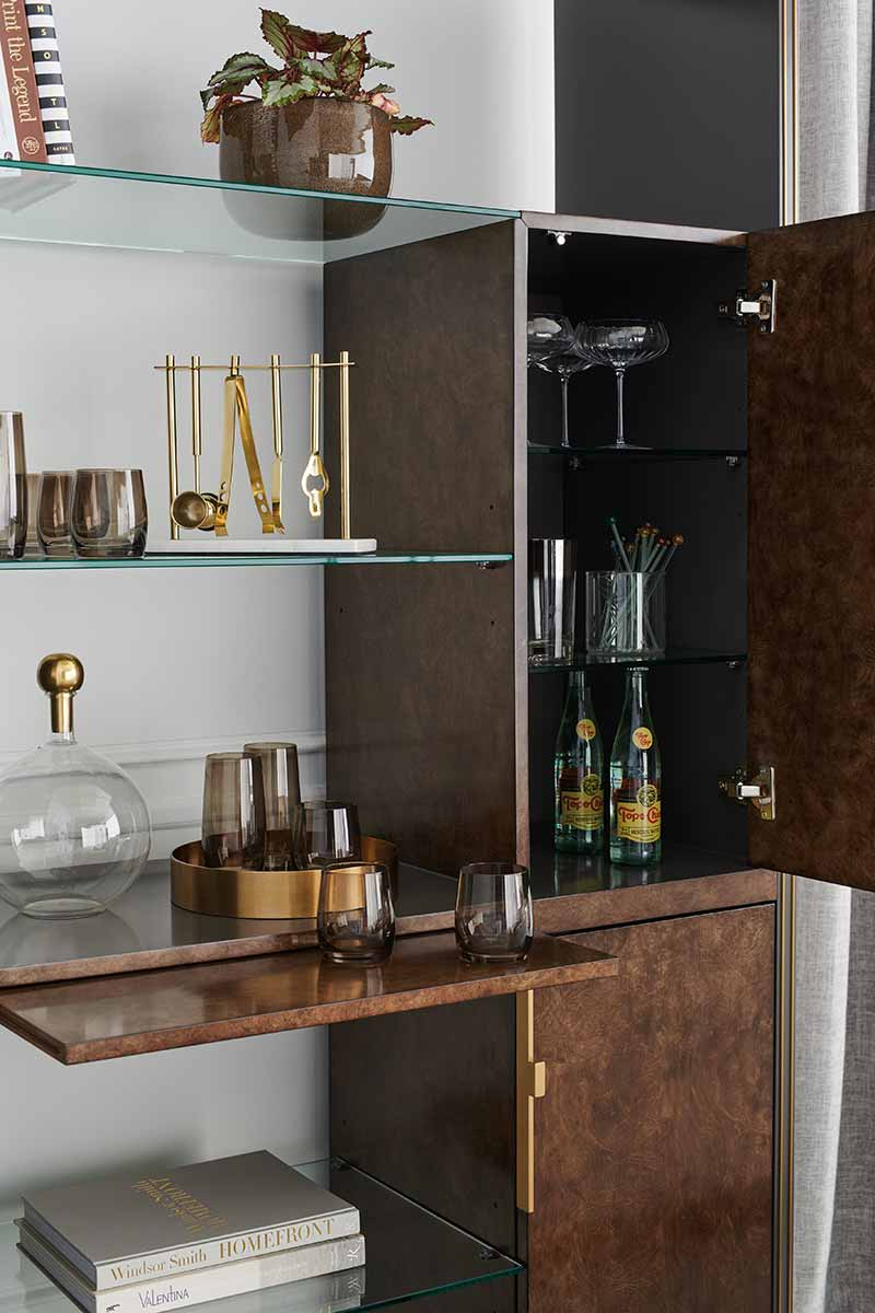 Double Booked Tall Shelf Unit | Place Direct | Contemporary Luxury Exclusive Designer Modern High End Furniture | Sandton Johannesburg