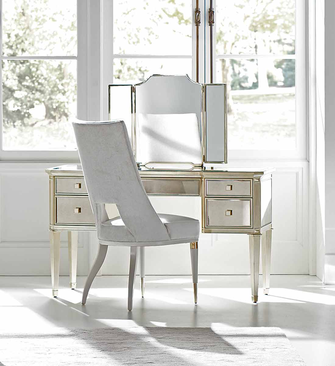 Reflective Thoughts Dressing Table or Desk   Place Direct   Contemporary Luxury Exclusive Designer Modern High End Furniture   Sandton Johannesburg