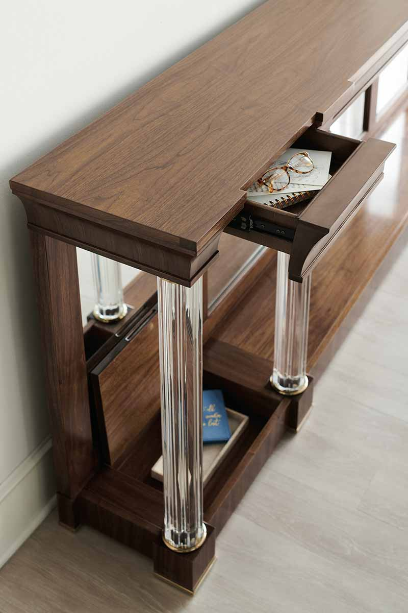 A Clear Perspective Console Table | Contemporary Luxury Exclusive Designer Modern Furniture