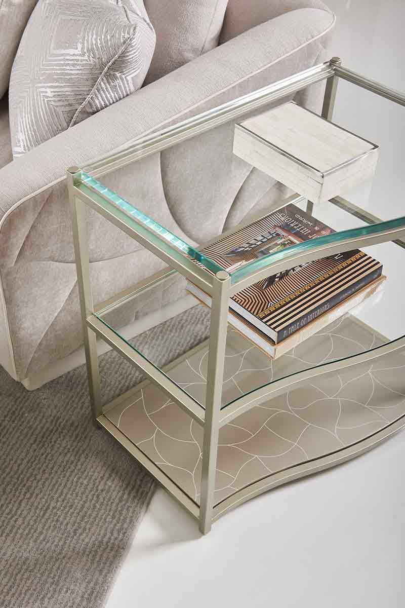 Double Agent Side Table   Contemporary Luxury Exclusive Designer Modern Furniture