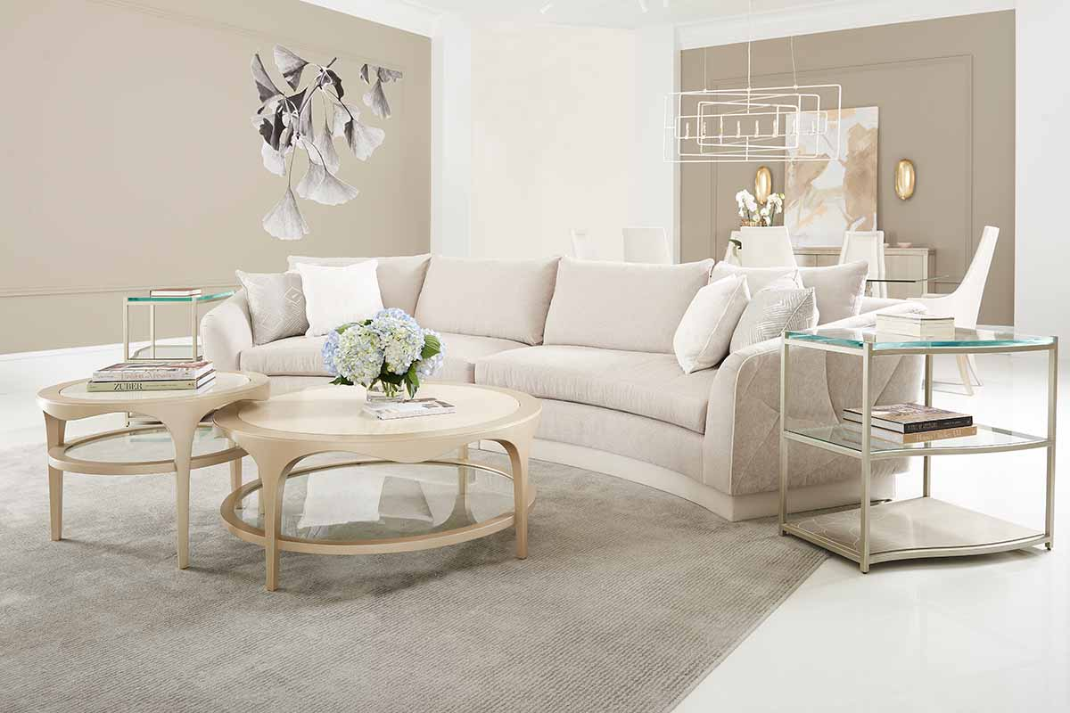 Fanciful Sectional Sofa Living Room | Contemporary Luxury Exclusive Designer Modern Furniture