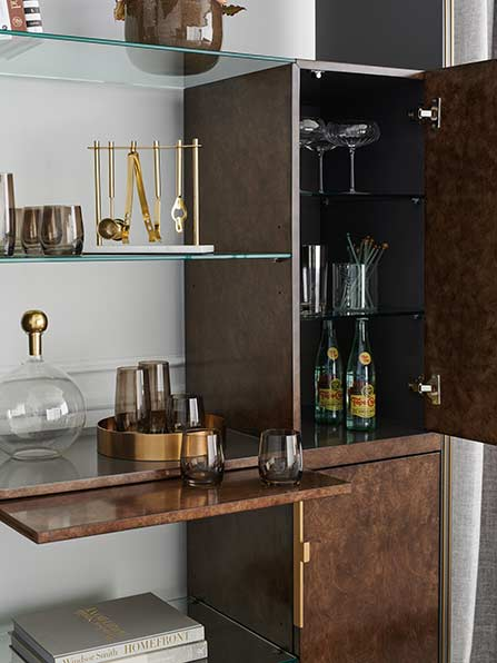 Double Booked Shelf Unit   Contemporary Luxury Exclusive Designer Modern Classic Furniture