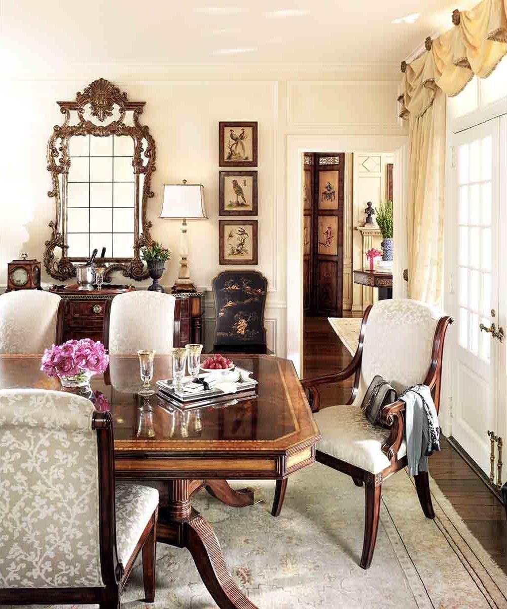 Dining Room | Traditional Classical Fine Luxury Handcrafted Georgian Regency Furniture | Sandton Johannesburg