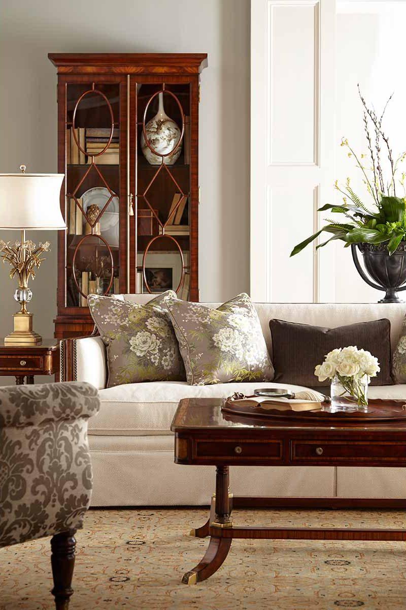 Living Room | Traditional Classical Fine Luxury Handcrafted Georgian Regency Furniture | Sandton Johannesburg
